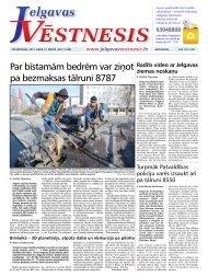 2013.gada 14.marts Nr.11(298) - Jelgavas Vēstnesis