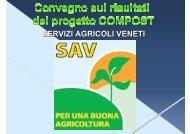 PDF (SAV - Servizi Agricoli Veneti) - Regione Veneto