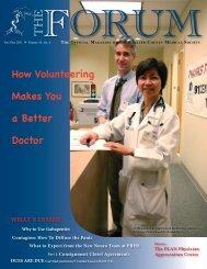 November-December 2011 The Forum - Collier County Medical Society
