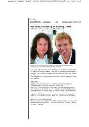 Magazin > Report > Interview mit Leo Greiner und Kurt S