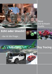 Echt oder Unecht? Ray Tracing - WiTec