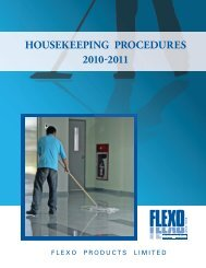 Housekeeping General.pdf - Flexo Products Ltd.