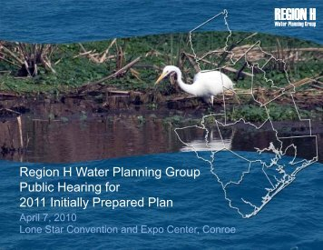 Public Hearing for 2011 IPP, Lone Star Convention and ... - Region H