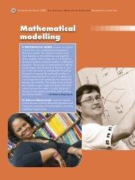 Mathematical modelling - CSIR
