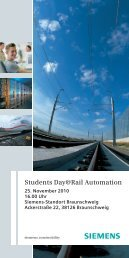 Students Day@Rail Automation
