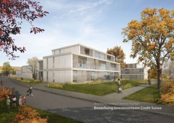 Bewerbung Investorenteam Credit Suisse - Gemeinde Thayngen
