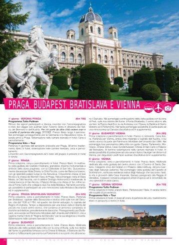 PRAGA, BUDAPEST, BRATISLAVA E VIENNA - Utat Viaggi