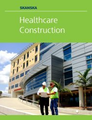 Healthcare Construction - Skanska