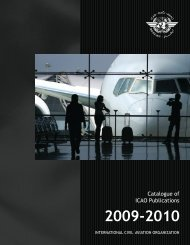 Catalogue of ICAO Publications - Renouf Publishing Co. Ltd.