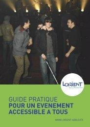 Guide pratique pour un événement accessible à tous - Capgeris