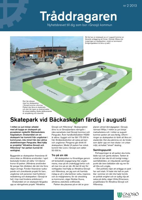 Tråddragaren 2013 - nr 2.pdf - Gnosjö kommun