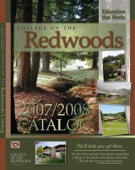 We'll help you get there. - Printranet - College of the Redwoods