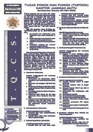 18.Edisi_Juli_2008 - Kantor Jaminan Mutu - Universitas Gadjah Mada