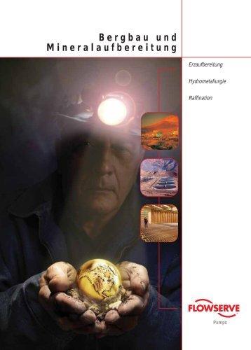 Bergbau und Mineralaufbereitung - TS-Pumpentechnik GmbH