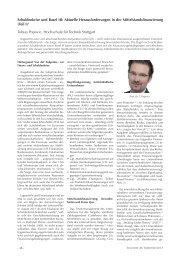 Schuldenkrise und Basel III: Aktuelle Herausforderungen in der ...
