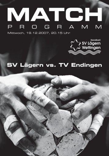 match - SV Lägern Wettingen
