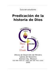 Predicación de la historia de Dios - USA / Canada Region