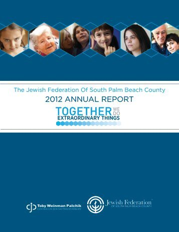 TOGETHER - Jewish Federation of South Palm Beach County