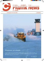 nr. 4/2005 Snerydning på Flight Line - Thuleab.dk