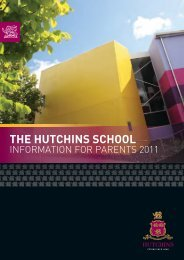 The Hutchins School Information for Parents 2011.pdf