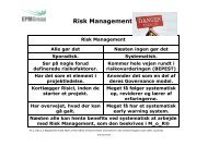 Risk Management - EPM Group