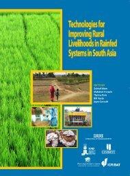 Technologies for Improving Rural Livelihoods in ... - IRRI books