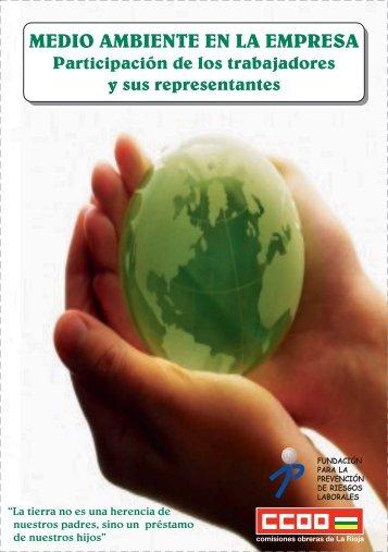 Librito Medio Ambiente.fh8 - Comisiones Obreras de La Rioja - CCOO