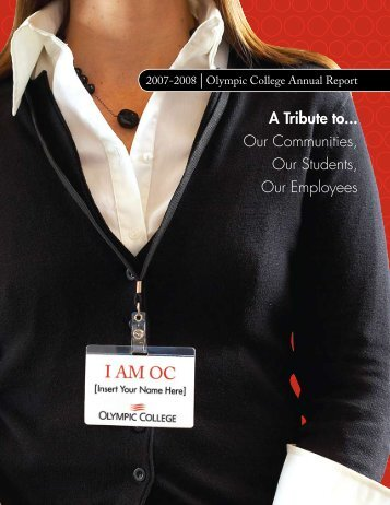 A Tribute to... Our Communities, Our Students ... - Olympic College