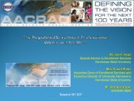 The Registered Enrollment Professional, REP - AACRAO