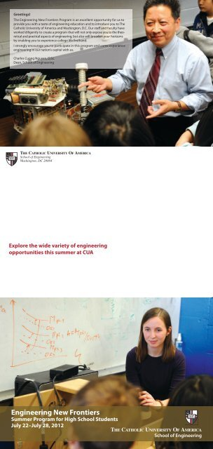 Explore The Wide Variety Of engineering - the School of ...