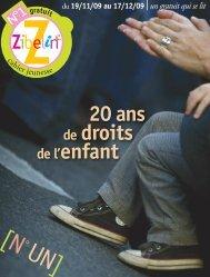 20 ans de droits - Zibeline