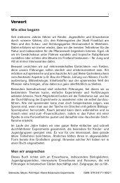 Vorwort - Verlag Harri Deutsch