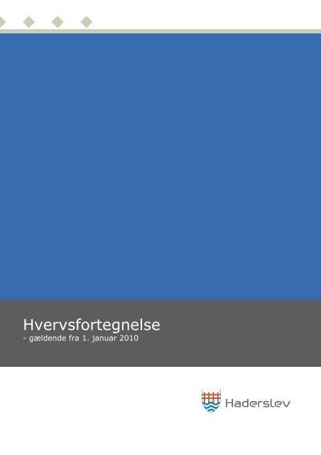 Hvervsfortegnelse - Haderslev Kommune