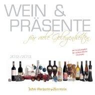 Download Geschenke-Katalog 2012 - Wein, Sekt, Champagner und ...