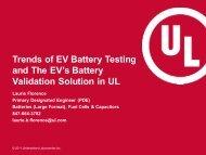 Trends of EV Battery Testing