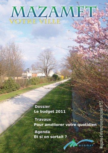 Téléchargez le bulletin municipal de Avril 2011. - Mazamet