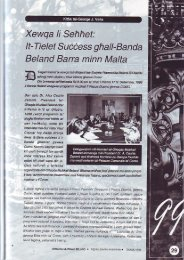 It-Tie I et S u ccess gftal I- Ban d a Beland Barra minn Malta