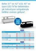 Beko LED TV ile internete girin, 3D farkıyla televizyon keyfinize yeni ... - Page 3