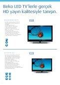 Beko LED TV ile internete girin, 3D farkıyla televizyon keyfinize yeni ... - Page 6