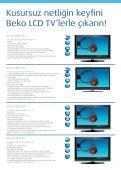 Beko LED TV ile internete girin, 3D farkıyla televizyon keyfinize yeni ... - Page 7