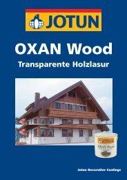 OXAN Wood - JOTUN - Holzschutz aus Norwegen