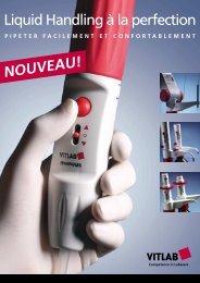 NOUVEAU! Liquid Handling à la perfection - Vitlab