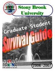 2006-2007 GSO Survival Guide - Graduate Student Organization