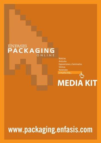 MEDIA KIT - Énfasis Packaging