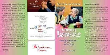 1. Thementag Gesichter der Demenz in Netphen - Zukunftsinitiative ...
