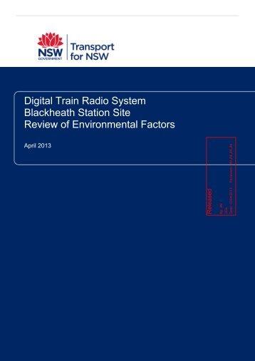 Digital Train Radio System Blackheath Station Site Review of ...