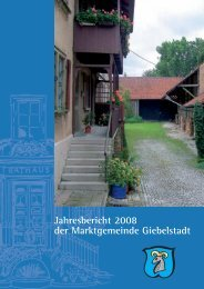 Vereinsleben - Markt Bütthard