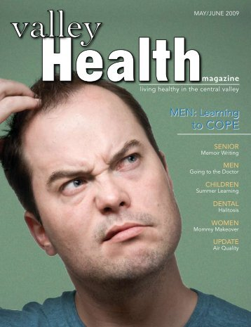 Men: Learning to Cope - Valley Health Magazine