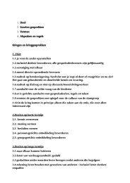 1. Doel 2. Soorten gesprekken 3. Vormen 4. Afspraken en regels ...