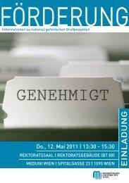 Download Einladung und Programm - Termine-meduniwien.at